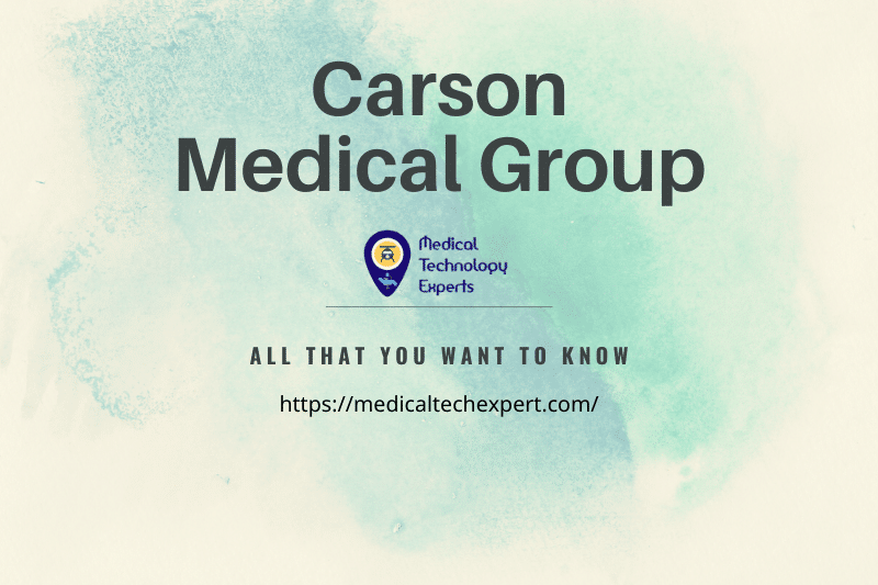 Carson Medical Group Information