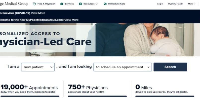 DuPage Medical Group Home Page